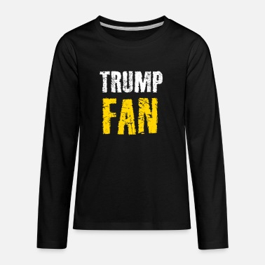 Trump Fan - Kids' Premium Longsleeve Shirt