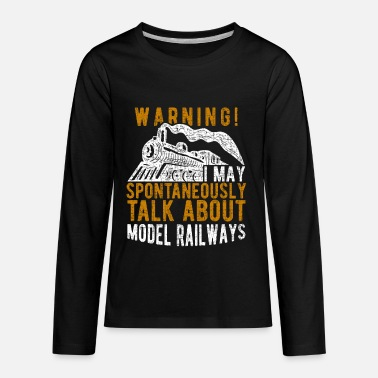 Railway locomotive - Kids' Premium Longsleeve Shirt