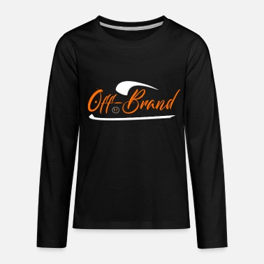 Off-brand Off Brand by Unchecked Apparel - Kids' Premium Longsleeve Shirt