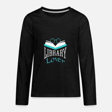 Library Lover - Kids' Premium Longsleeve Shirt