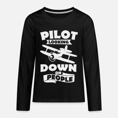 Recreational recreational pilot - Kids' Premium Longsleeve Shirt