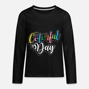 Color Colored Color Gift many colors - Kids' Premium Longsleeve Shirt