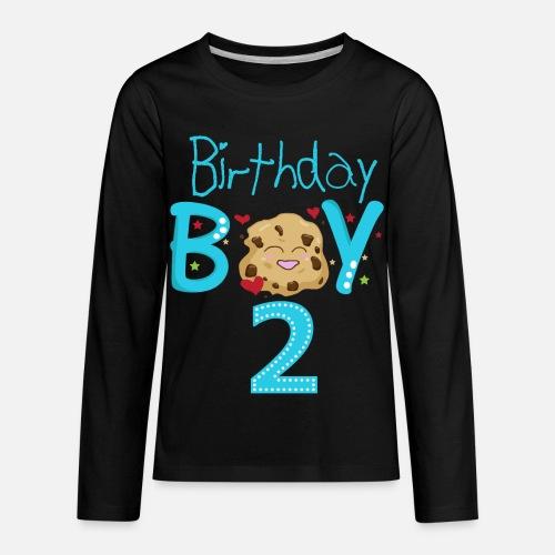 Kids Premium Longsleeve ShirtBirthday Boy Two