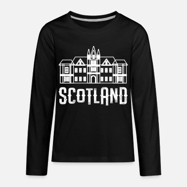 Scotland Scotland Edinburgh Castle - Kids' Premium Longsleeve Shirt