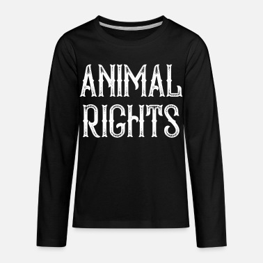 Animal Rights Animal Rights - Kids' Premium Longsleeve Shirt