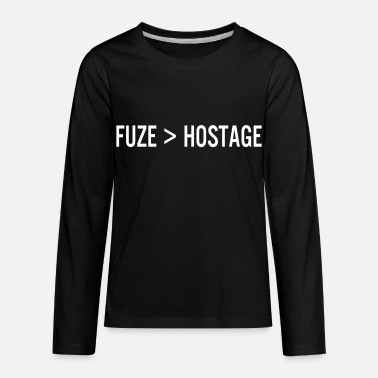 Rainbow Six Siege Multiplayer rainbow six siege fuze kill hostage - Kids' Premium Longsleeve Shirt