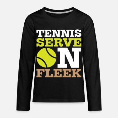 Wimbeldon Tennis Serve Tennisball Court Racket xmas gift - Kids' Premium Longsleeve Shirt
