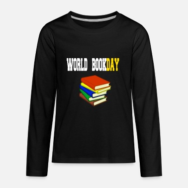 Please World Book Day - Kids' Premium Longsleeve Shirt