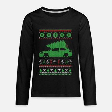 Christmas Ugly Sweater - Kids' Premium Long Sleeve T-Shirt