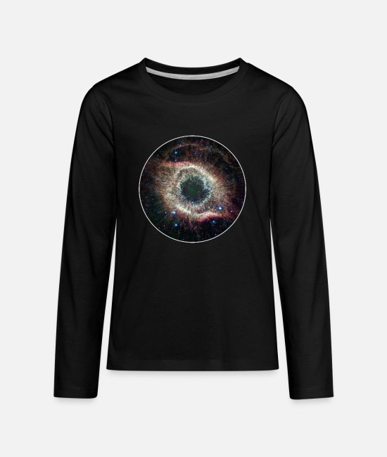 Hipster Long-Sleeved Shirts - Galaxy - Space - Stars - Cosmic - Art - Universe - Kids' Premium Longsleeve Shirt black