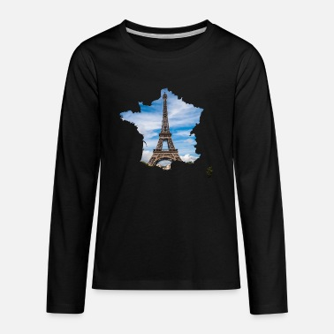 Landmark Eiffel Tower - Kids' Premium Longsleeve Shirt