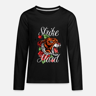 Tiger Tattoo - Kids' Premium Longsleeve Shirt