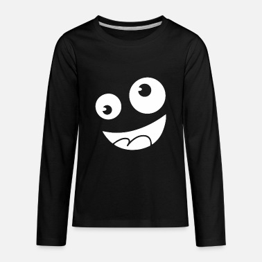 Silly Silly face - Kids' Premium Longsleeve Shirt
