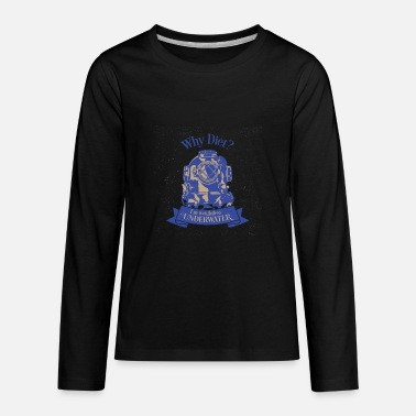 Deep Sea Diver Diving Divers Deep Sea - Kids' Premium Longsleeve Shirt