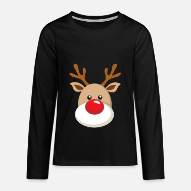 Nose rudolph the red nosed reindeer - Kids' Premium Longsleeve Shirt