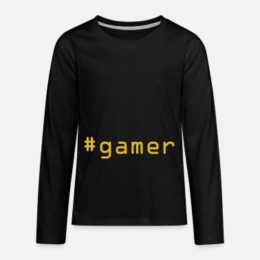 Up-to-date #gamer - Kids' Premium Longsleeve Shirt