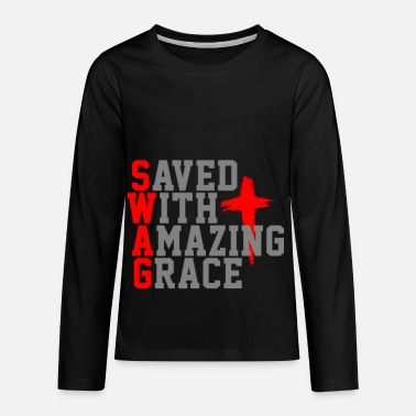 Cool Christian Swag For Christians - Kids' Premium Longsleeve Shirt