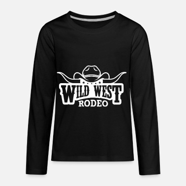 Rodeo Wild West Rodeo - Kids' Premium Longsleeve Shirt