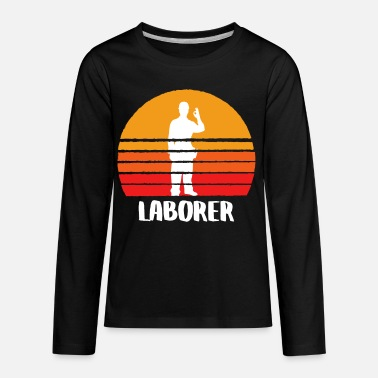Labor The Laborer - Kids' Premium Longsleeve Shirt