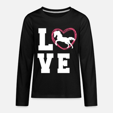 Horse Horse Tee For Women - Kids' Premium Longsleeve Shirt