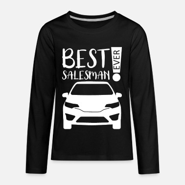 Sales Representative Sales Salesman Seller Sell Sales Representative - Kids' Premium Longsleeve Shirt