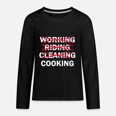 cook cooking chef gift idea food - Kids' Premium Longsleeve Shirt