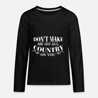 Countries Country - Kids' Premium Longsleeve Shirt