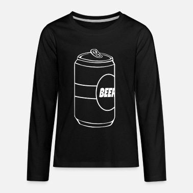Beer Beer - Beer - Beer cans - Can of Beer - Kids' Premium Longsleeve Shirt