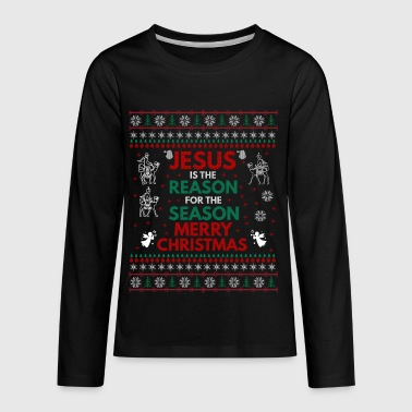 UGLY CHRISTMAS SWEATERS, T-SHIRTS, AND GIFT ITEMS - Kids' Premium Long Sleeve T-Shirt