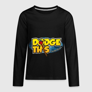 Dodge This Paintball Logo - Kids' Premium Long Sleeve T-Shirt
