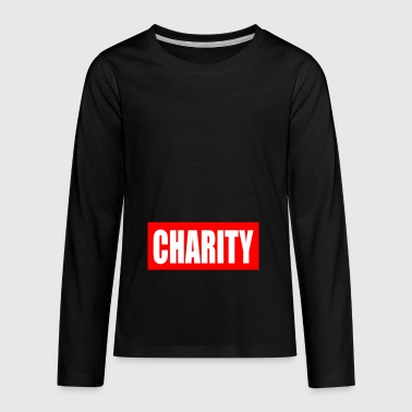 CHARITY - Kids' Premium Long Sleeve T-Shirt