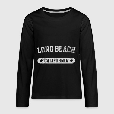 Long Beach California - Kids' Premium Long Sleeve T-Shirt