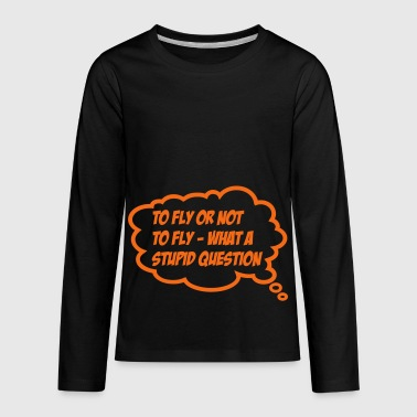 fly - Kids' Premium Long Sleeve T-Shirt