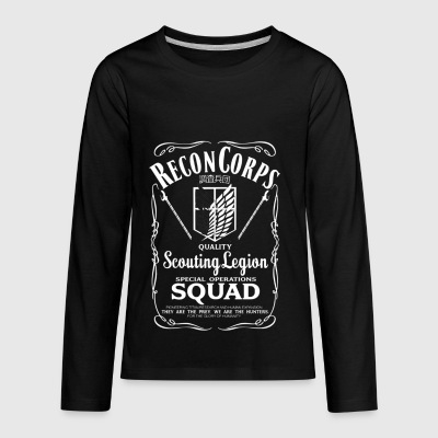 Quality Scouting Legion - Kids' Premium Long Sleeve T-Shirt