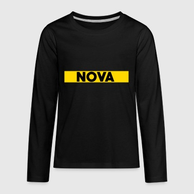 Nova Box Logo - Kids' Premium Long Sleeve T-Shirt