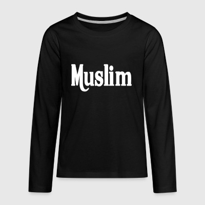 MUSLIM - Kids' Premium Long Sleeve T-Shirt