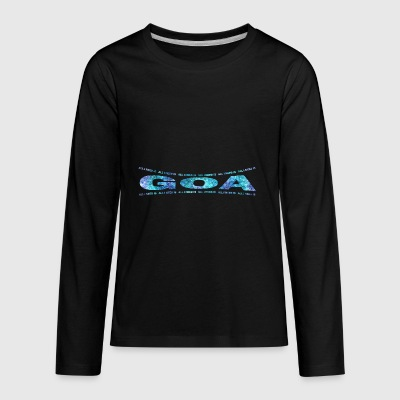 LOVE TECHNO GESCHENK goa pbm GOA dream - Kids' Premium Long Sleeve T-Shirt