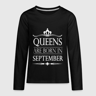 Queens Month - Kids' Premium Long Sleeve T-Shirt