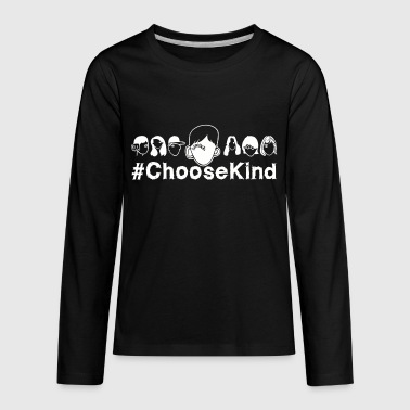 Choose Kindness - Kids' Premium Long Sleeve T-Shirt
