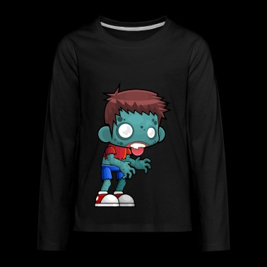 Zombie vs. plants - Kids' Premium Long Sleeve T-Shirt