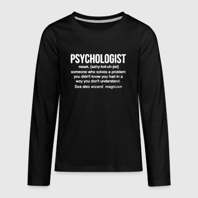 Psychologist Noun T Shirt - Kids' Premium Long Sleeve T-Shirt