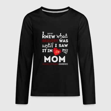 Multiple Myeloma Awareness For My Mom T Shirt - Kids' Premium Long Sleeve T-Shirt