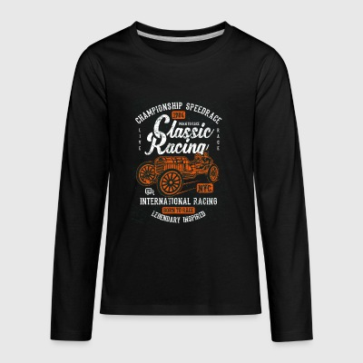 Classic Racing - Kids' Premium Long Sleeve T-Shirt