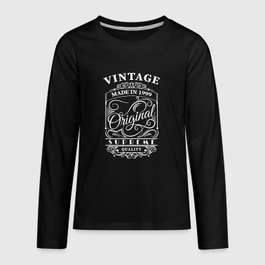vintage made in 1999 - Kids' Premium Long Sleeve T-Shirt