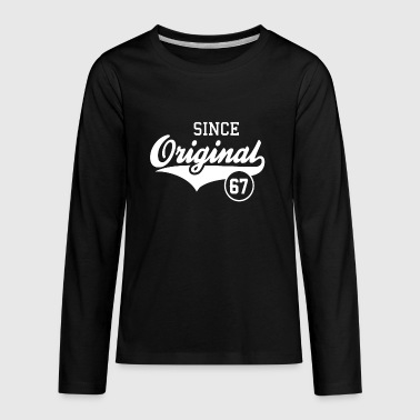 Original Since 1967 - Kids' Premium Long Sleeve T-Shirt