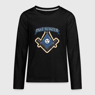 Freemason Past Master Tshirt Freemason Masonic - Kids' Premium Long Sleeve T-Shirt