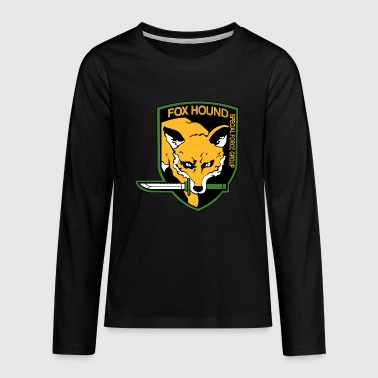 FOXHOUND special forces - Kids' Premium Long Sleeve T-Shirt