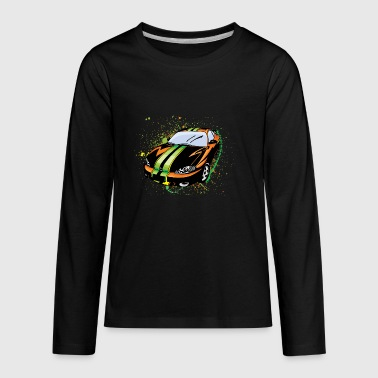 Sport_car_liner - Kids' Premium Long Sleeve T-Shirt