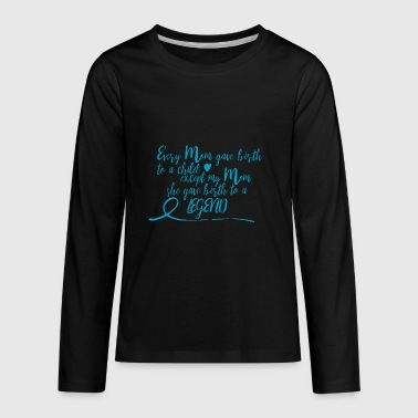 legend - blue - Kids' Premium Long Sleeve T-Shirt