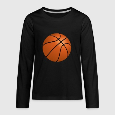 Basketball - Kids' Premium Long Sleeve T-Shirt